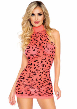Leg Avenue | LA86160, Sheer Cheetah Dress