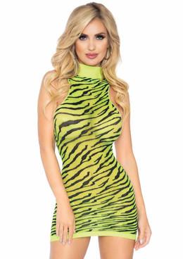 Leg Avenue | LA86159, Sheer Zebra Dress