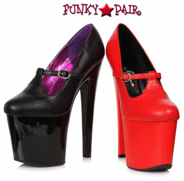 Ellie Shoes | 821-ASPH, Platform Mary Jane Pump