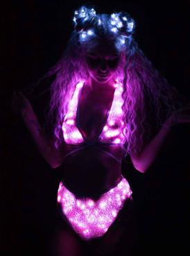 JV-FF362, Light-Up Sequin Top by J. Valentine