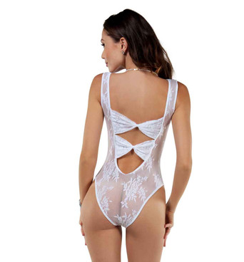 BS8028 Desire Reversible Bodysuit back view