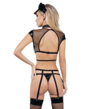 B9008, PD Hottie Back View by RaveWear Lingerie