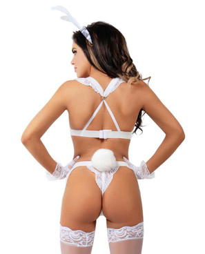 B2009 Bad Bunny back view by RaveWear Lingerie