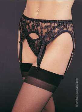 LA-8888, Lace Garter Belt Set