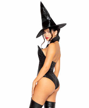 R-4964, Women Wicked Witch Costume back view by Roma