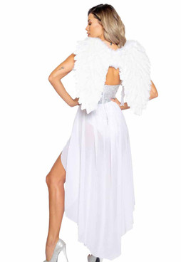 Roma R-4966, Angel of Desire Adult Costume back View