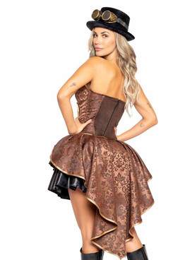 Roma R-4984, Women's Steampunk Costume Back View