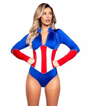 R-4990, Women's American Heroine Costume by Roma