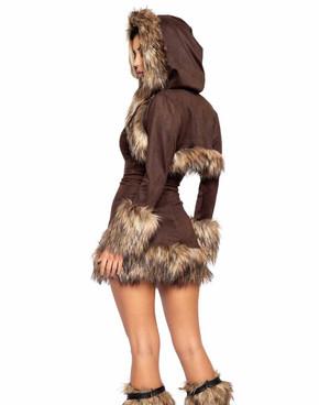 Roma R-4997, Chilled Eskimo Costume Back View