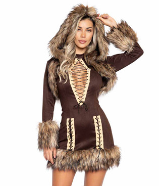 R-4997, Women's Chilled Eskimo Costume By Roma