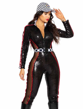 R-5007, Glam Racer JumpSuit Costume By Roma