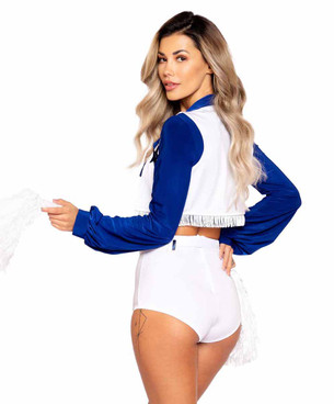 Roma R-5008, Women's Cheerleader Costume Back View