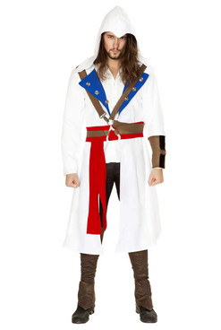 R-4844, Men's Assassins Warrior Costume by Roma