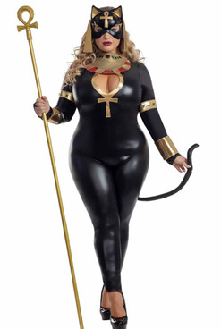 S2061X, Plus Size Divine Feline Costume by Starline