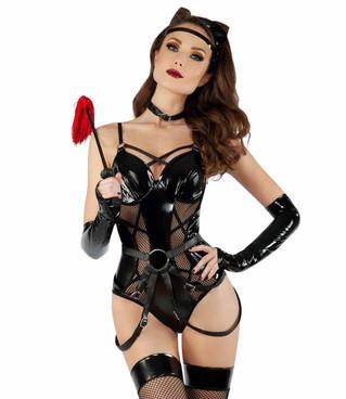 S2019, Sexy Dominatrix Cat Costume by Starline