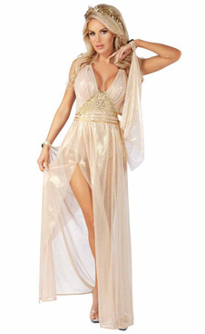 S2067, Guilded Goddess Adult Costume by Starline