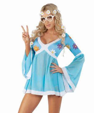 S2056, Flower Power Hippie Costume by Starline