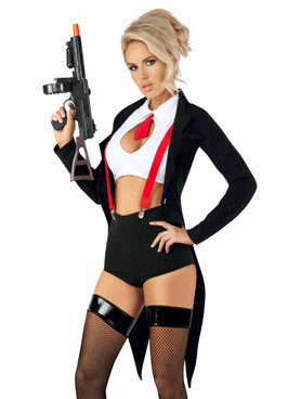 S2099, Sexy Mob Boss Adult Costume by Starline