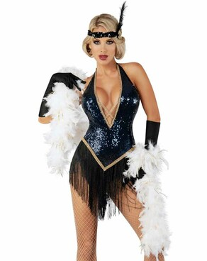 S2063, Show Girl Jazzy Jezebel Costume by Starline