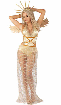 S2068, Guilded Angel Adult Costume by Starline