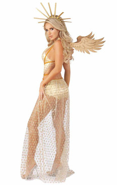 Starline S2068, Sexy Guilded Angel Costume back view
