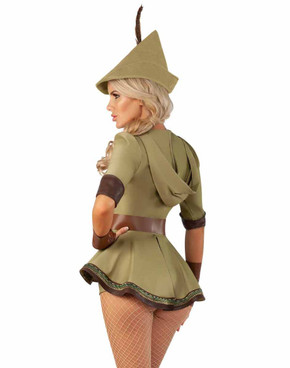 Starline S2072, Sexy Heroic Hottie Adult costume back view