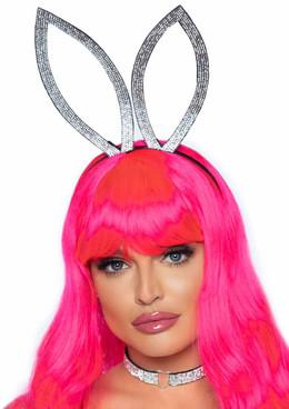 LA2767, Rhinestone Bunny Ear Headband