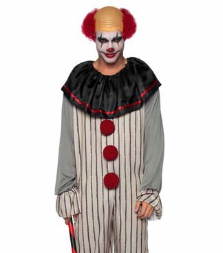 LA86930, Creep Clown Men Costume by Leg Avenue