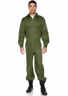 LA86936, Men's Green Jumpsuit by Leg Avenue