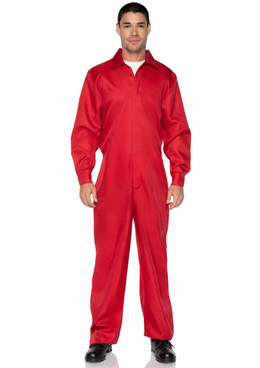 LA86936, Men's Red Jumpsuit by Leg Avenue