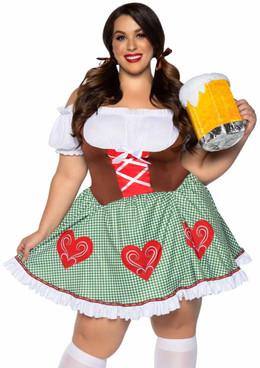 Leg Avenue | LA-86881X, Plus Size Bavarian Cutie Costume
