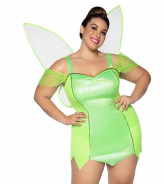 LA-86914X, Plus Size Pixie Costume by Leg Avenue