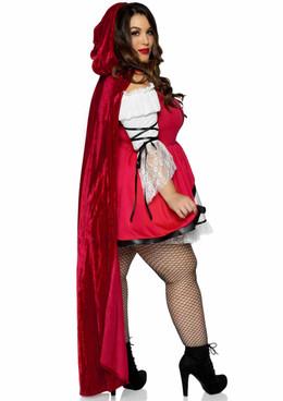 Leg Avenue | LA86905X, Plus Size Storybook Red Riding Hood Costume