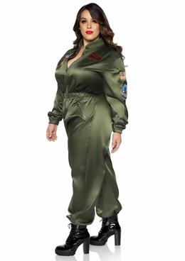 Top Gun Parachute Flight Suit by Leg Avenue | TG86931X
