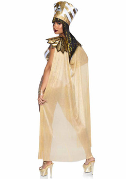 Leg Avenue | LA-86916, Queen Nefertiti Costume Back View