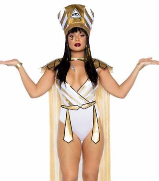 LA-86916, Queen Nefertiti Costume by Leg Avenue