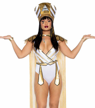 LA-86916, Queen Nefertiti Costume by Leg Avenue