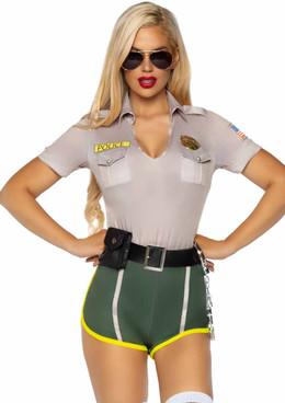 LA-86891, Hot Cop Costume by Leg Avenue
