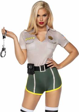 Hot Cop Costume by Leg Avenue | LA-86891