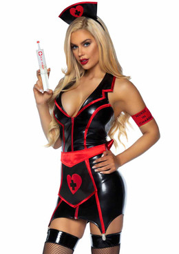 Naughty Nurse Costume by Leg Avenue | LA-86926