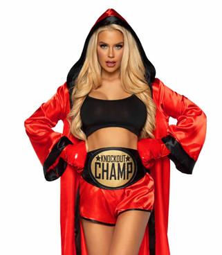 LA86907, Sexy Knockout Champ by Leg Avenue