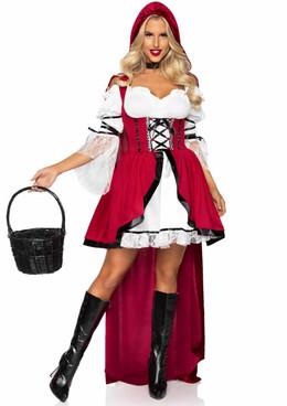 Leg Avenue   LA86905, Storybook Red Riding Hood Costume