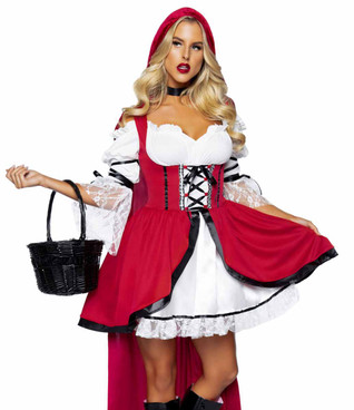 LA86905, Storybook Red Riding Hood Costume by Leg Avenue