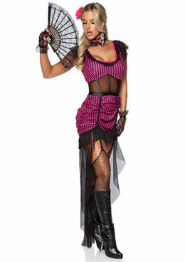 Saloon Girl Costume by Leg Avenue   LA-86923
