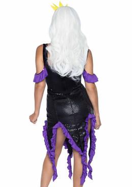 Leg Avenue   LA-86764, Sultry Sea Witch Costume back view