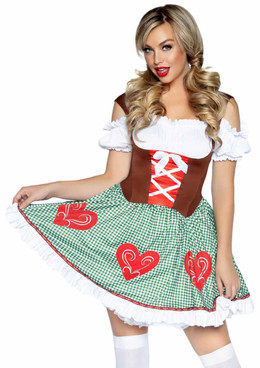 LA-86881, Bavarian Cutie Costume by Leg Avenue