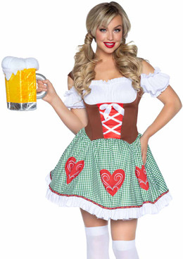 Leg Avenue   LA-86881, Bavarian Beer Girl Costume