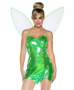 LA-86938, Green Fairy Costume by Leg Avenue