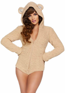 LA-86952, Teddy Bear BodySuit Costume by Leg Avenue