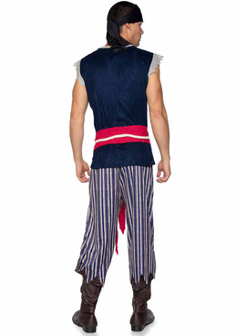 LA86940, Men's Plank Walking Pirate Costume by Leg Avenue